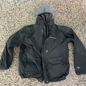 Men's Columbia interchange jacket